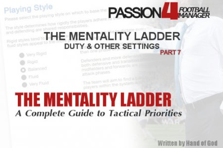Mentality Structures duty and other settings