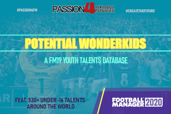 Potential Football Manager 2020 Wonderkids