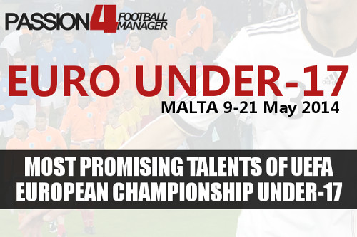 Most Promising Talents of UEFA Euro Under-17 Championship 2014
