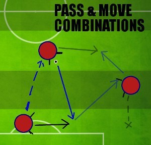 Tiki Taka Pass & Move Combinations